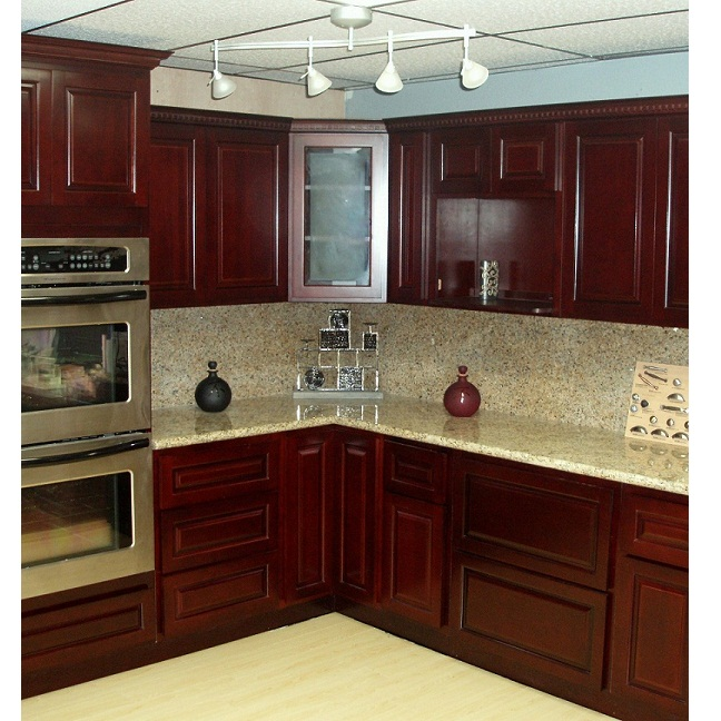 Image of: Cherry Cabinets Pictures