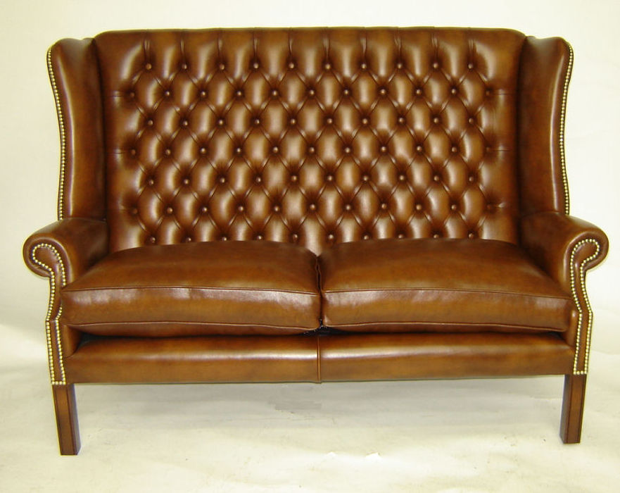 Image of: Chesterfield Sofa Design Ideas Brown