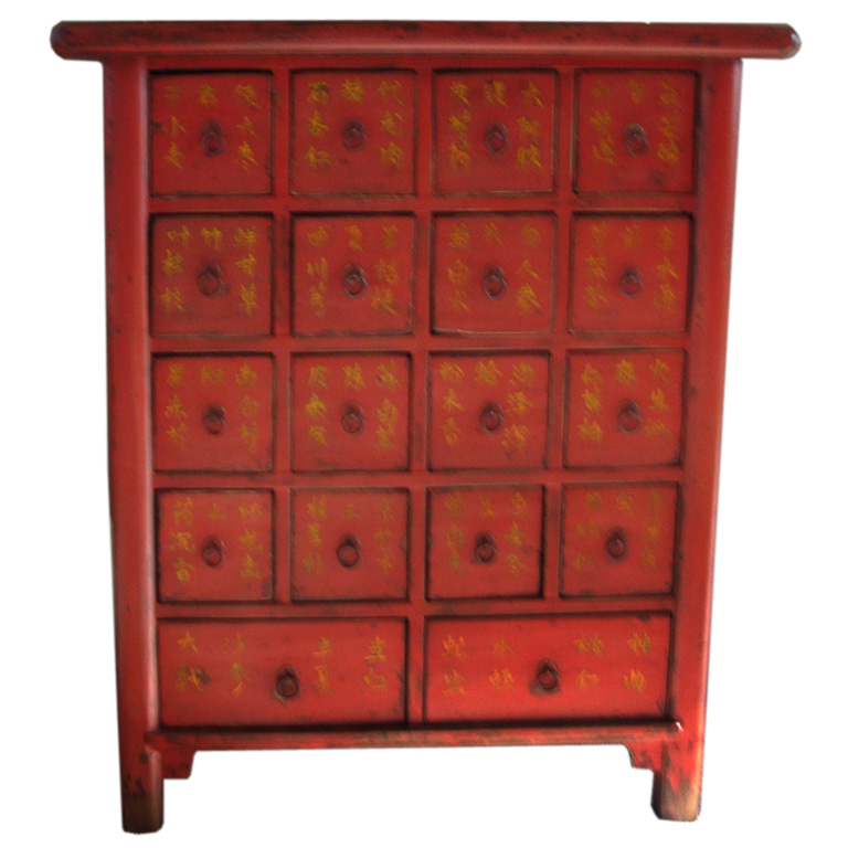 Image of: Chinese apothecary cabinet