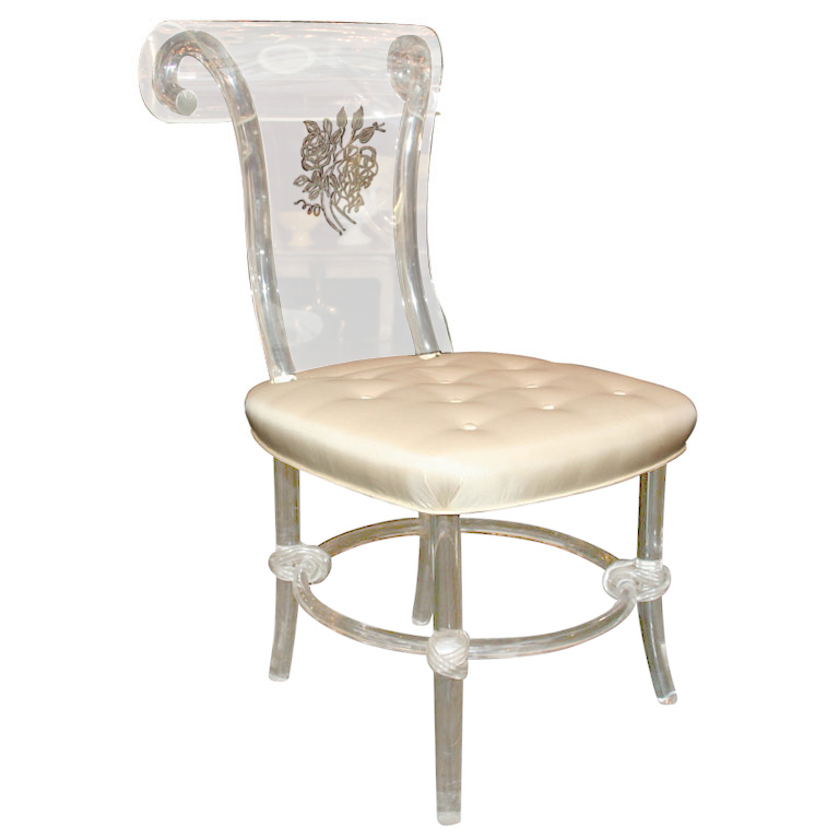 Picture of: Classic lucite chairs