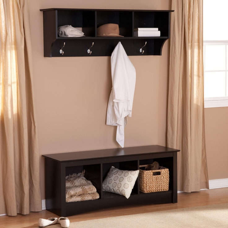 Picture of: Coat Rack Bench ikea