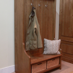 Coat Rack Bench image