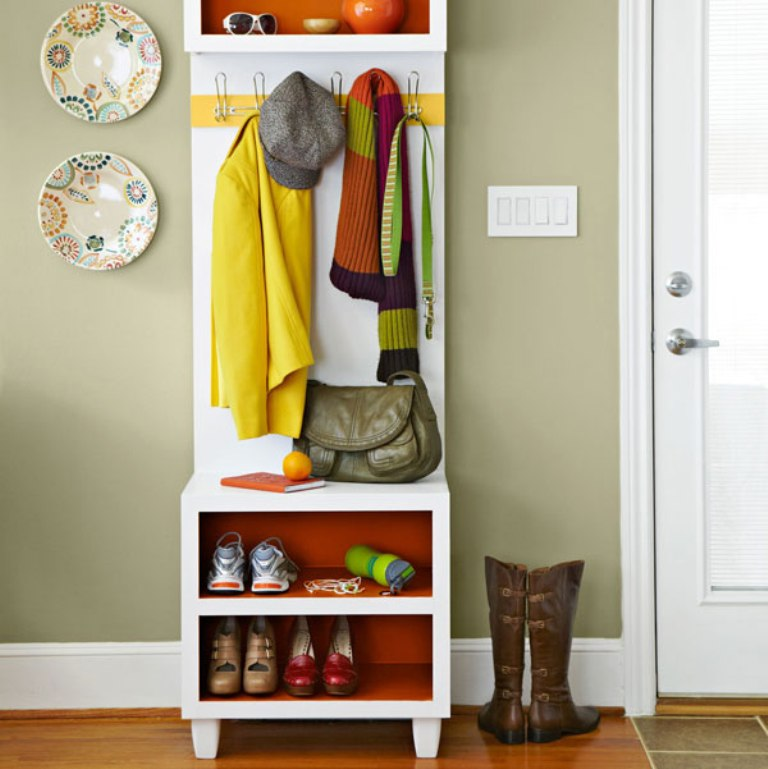 Coat Rack Bench shoe
