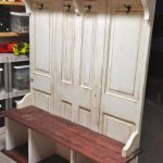 Coat Rack Bench teak