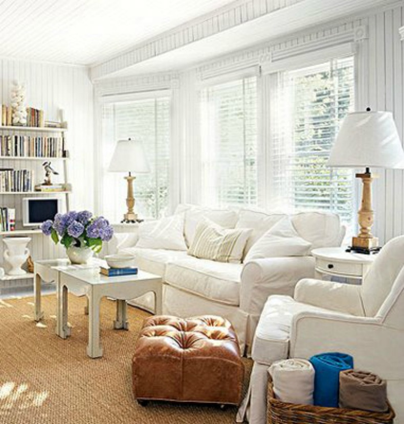 Cottage Slipcovered Sofas