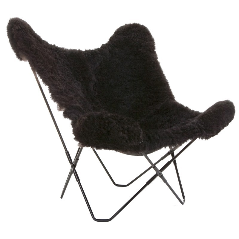 Image of: Dark Butterfly Chairs