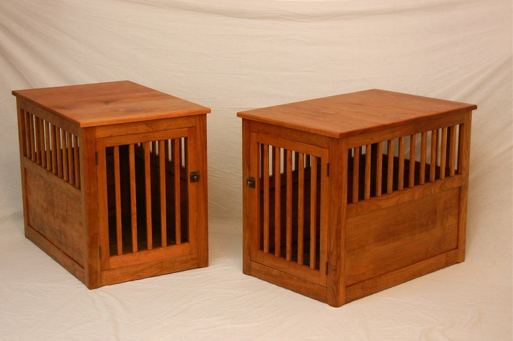 Image of: Dog Crate End Table Ideas