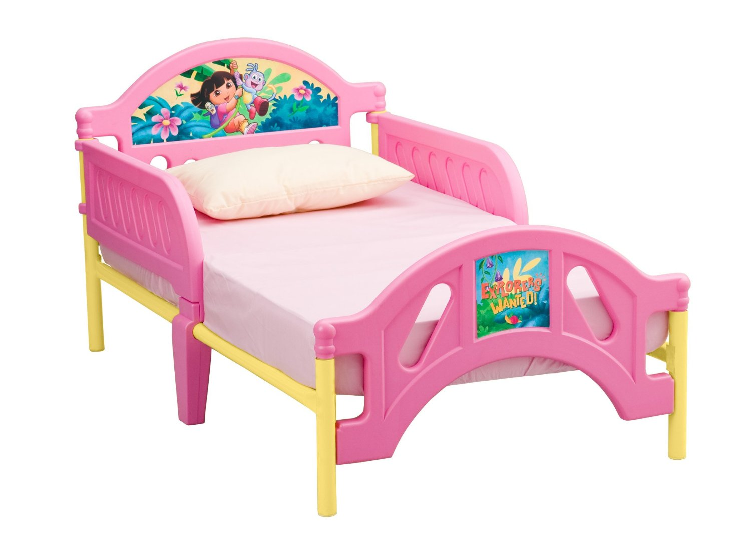 Picture of: Dora Toddler Bed Replacement Stickers