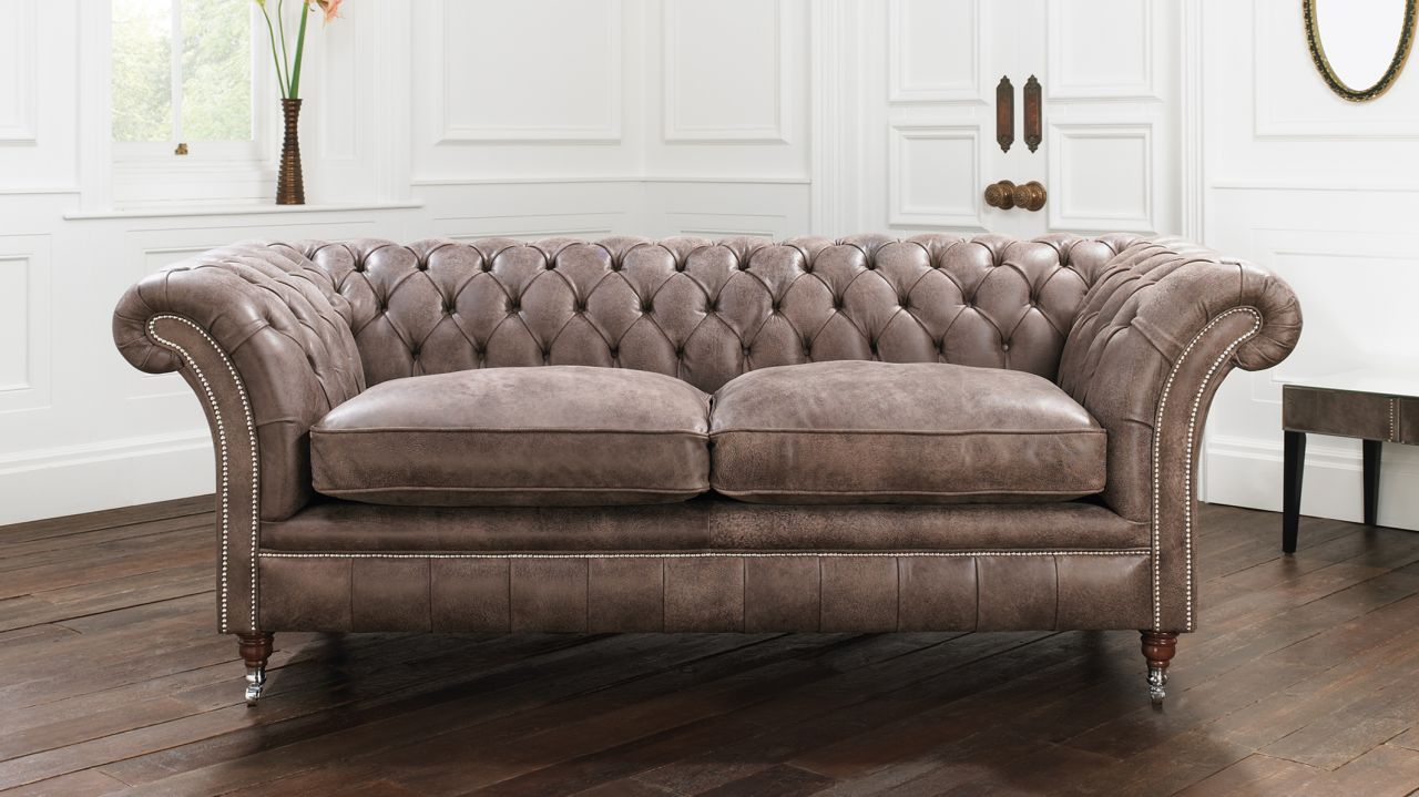 Picture of: Drummond Chesterfield Sofa