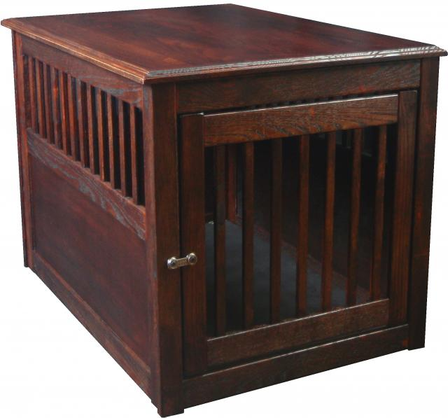 Image of: Dynamic Dog Crate End Table