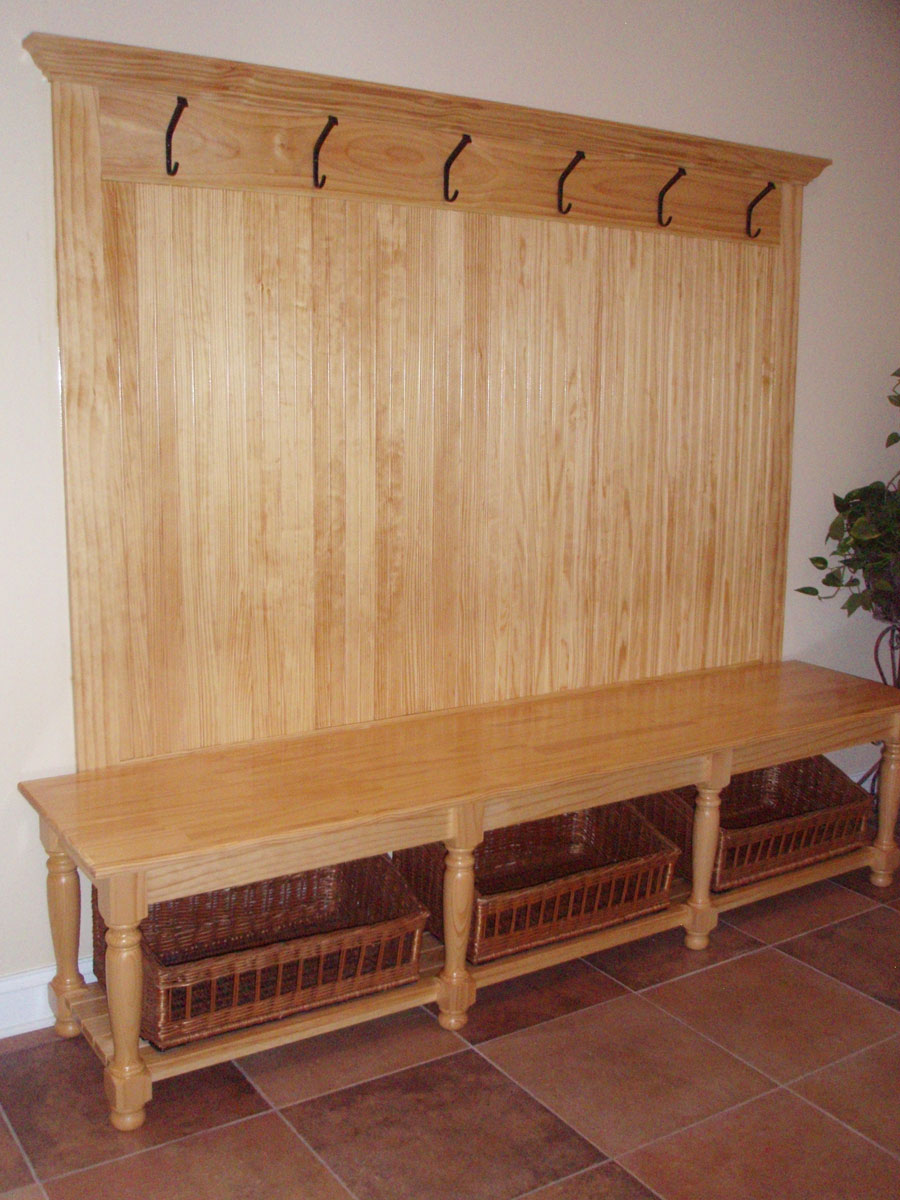 Image of: Entryway Bench Image