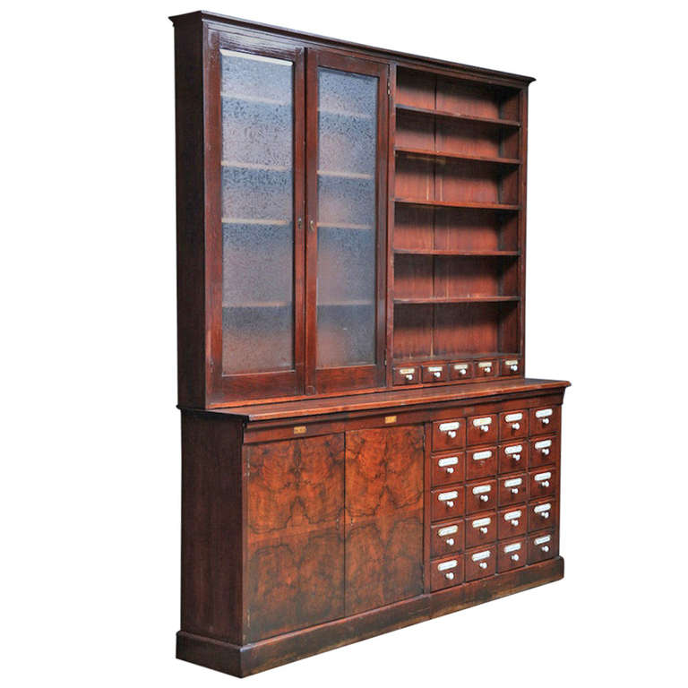 Image of: European apothecary cabinet