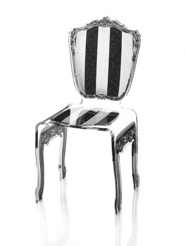 Picture of: Exclusive lucite chairs