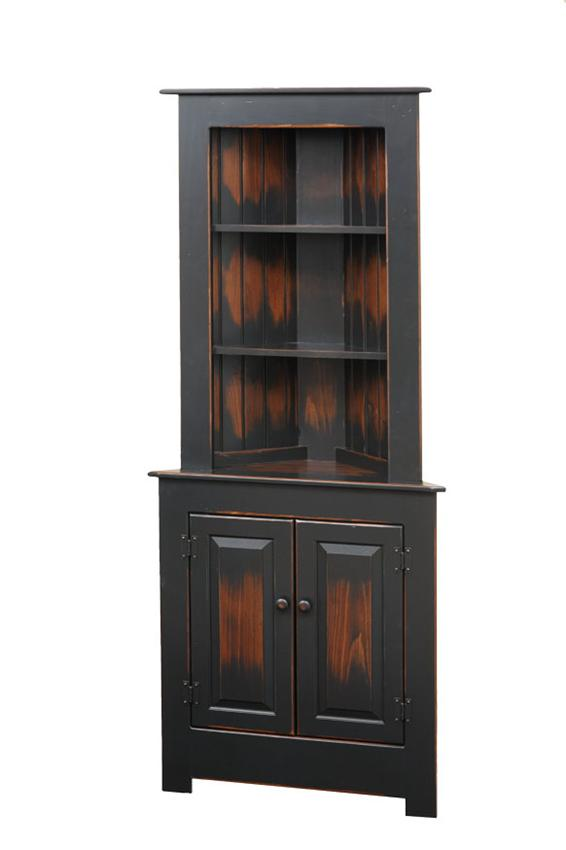 Image of: Farmhouse Corner Hutch