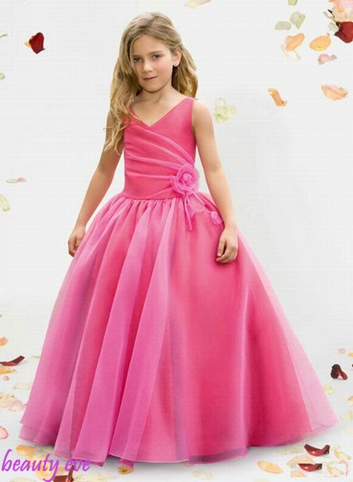 Image of: Flower Girl Dresses for kids