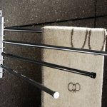 Free Standing Towel Rack Chrome