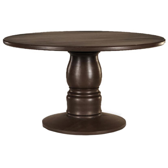 Picture of: French Round Pedestal Dining Table