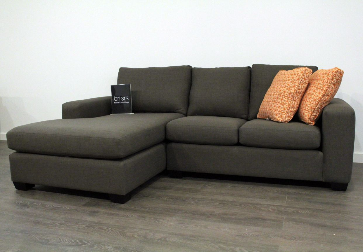 Image of: Hamilton Sectional Sofa in Marco Charcoal