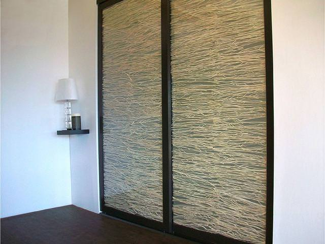 Image of: Hanging Sliding Room Divider