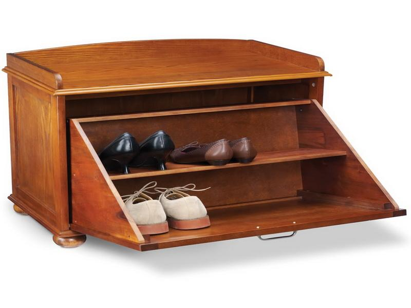 Picture of: Hiding Bench with Shoe Storage