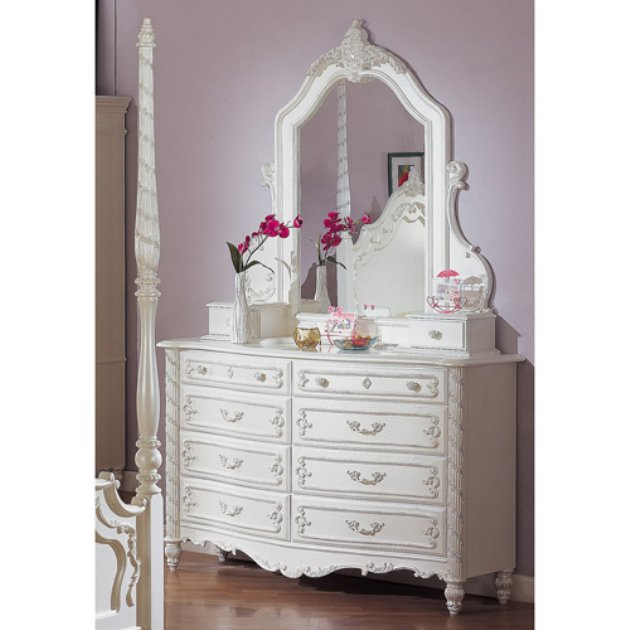 Image of: Ideal Style Mirrored Dresser elegant