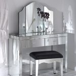 Ideal Style Mirrored Dresser glass