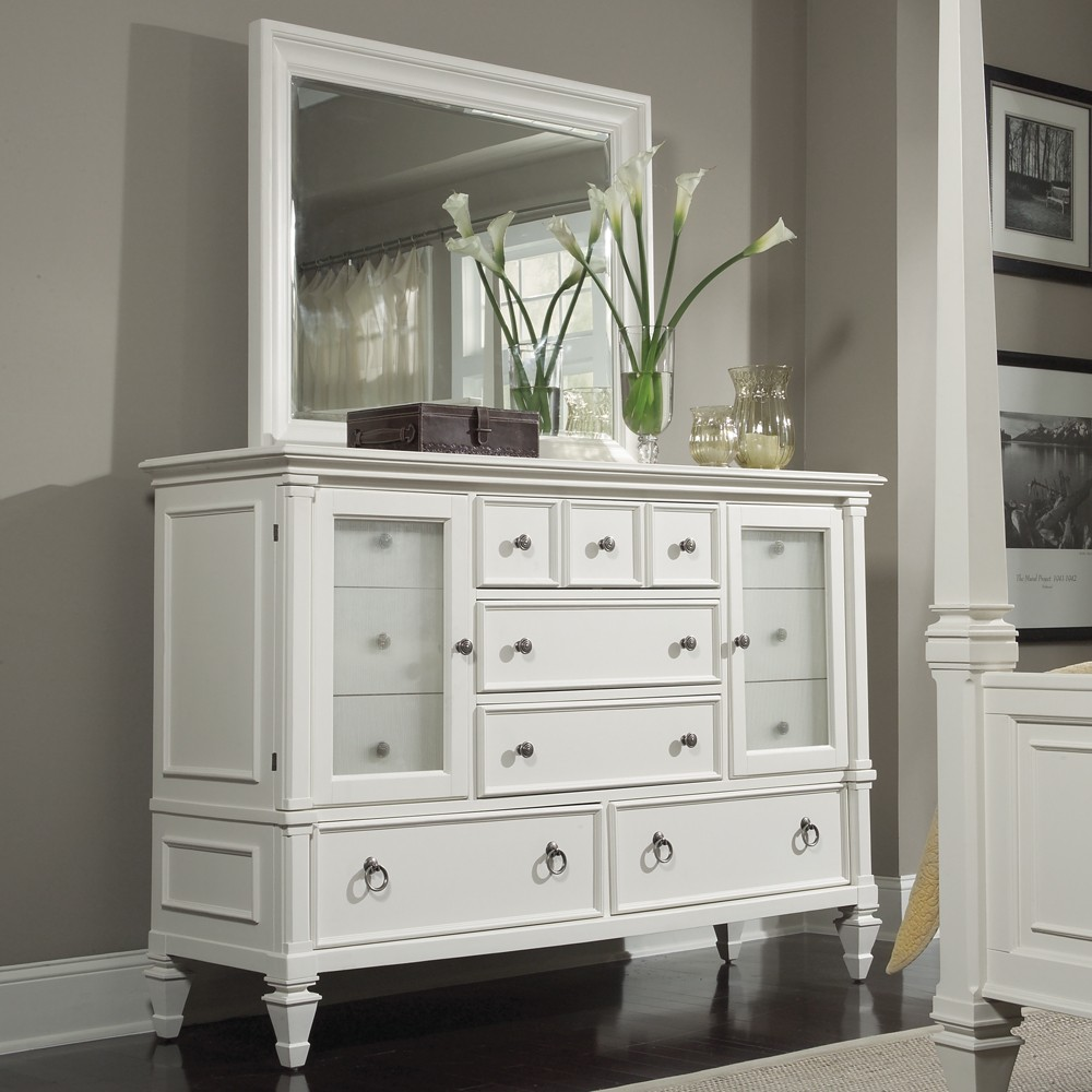 Image of: Ideal Style Mirrored Dresser landscape