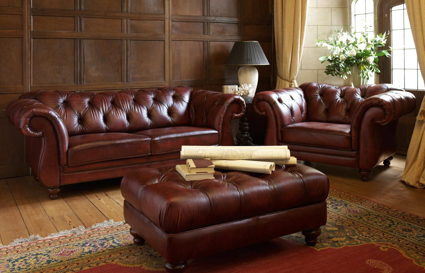 Image of: Ideas Chesterfield Sofas