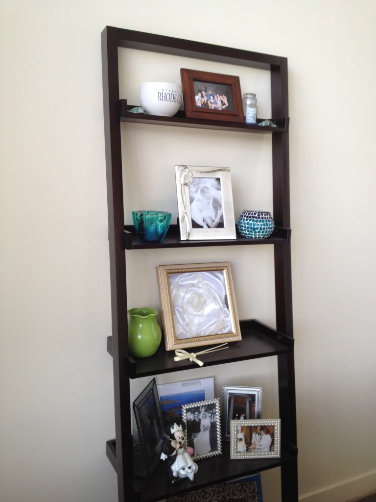 Ideas for ladder bookshelf