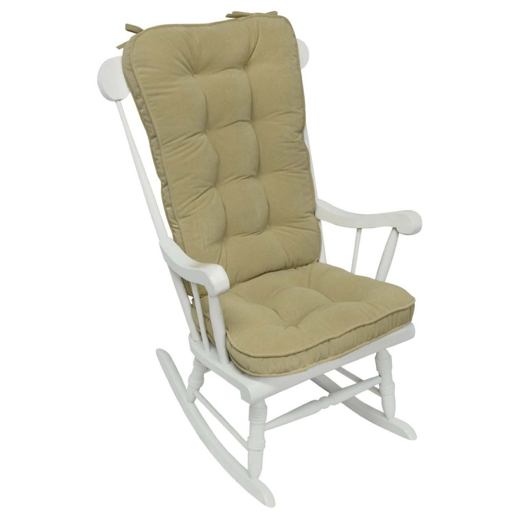 Jumbo Rocking Chair Cushion Set