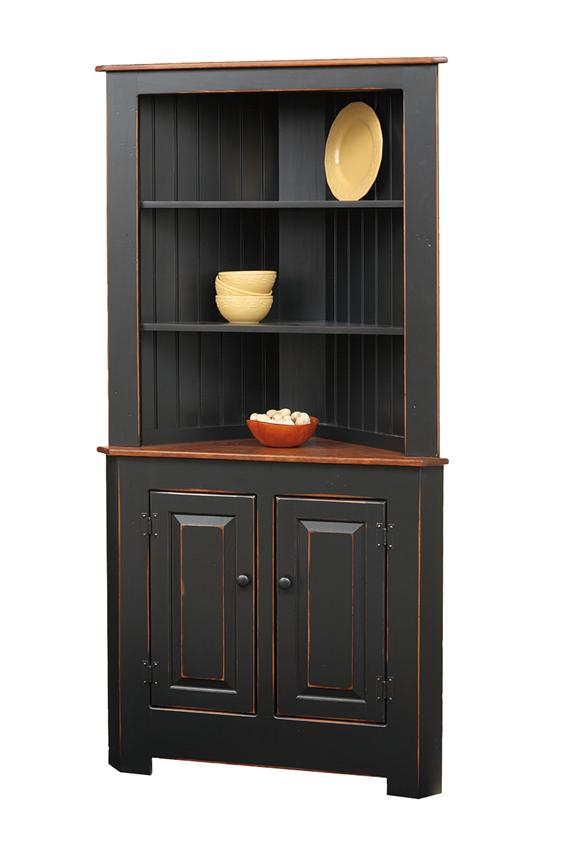 Image of: Kitchen corner hutch