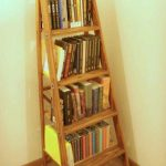 Ladder bookshelf design ideas
