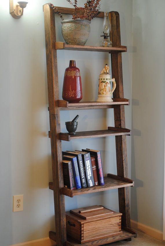 Picture of: Ladder bookshelf style