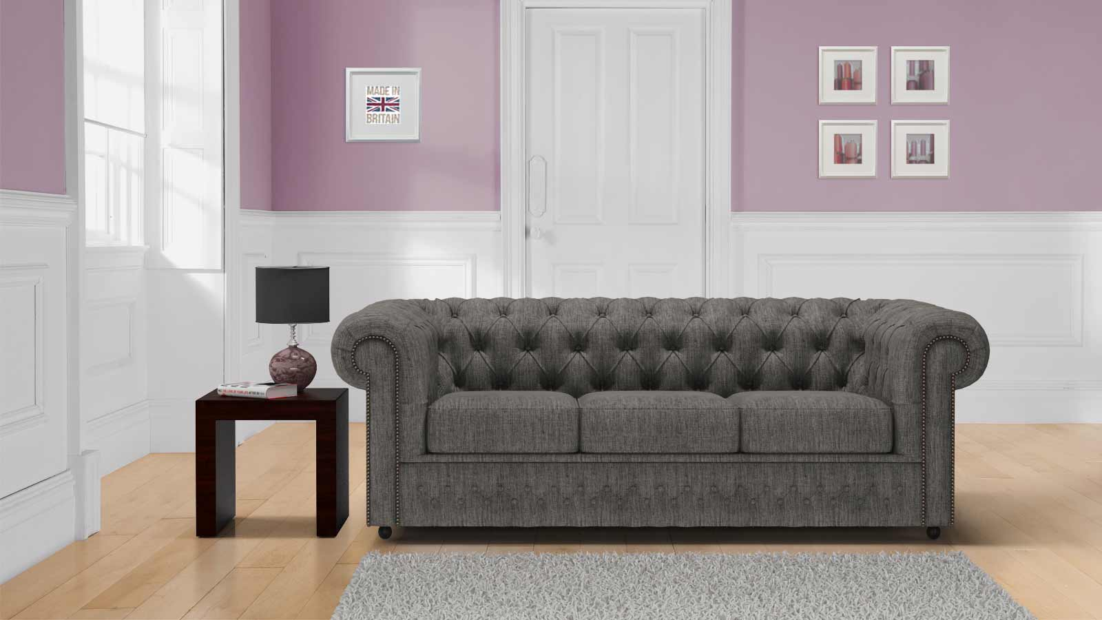 Image of: Lavish Authentic Chesterfield Sofas
