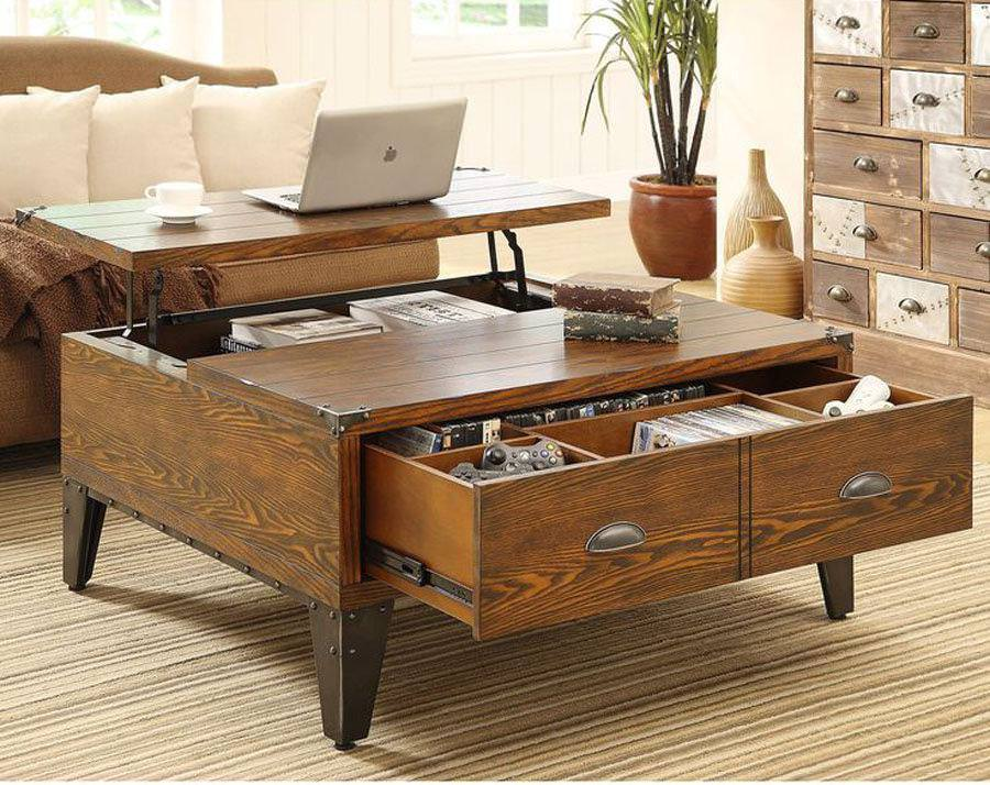 Image of: Lift Top Coffee Table Amazon