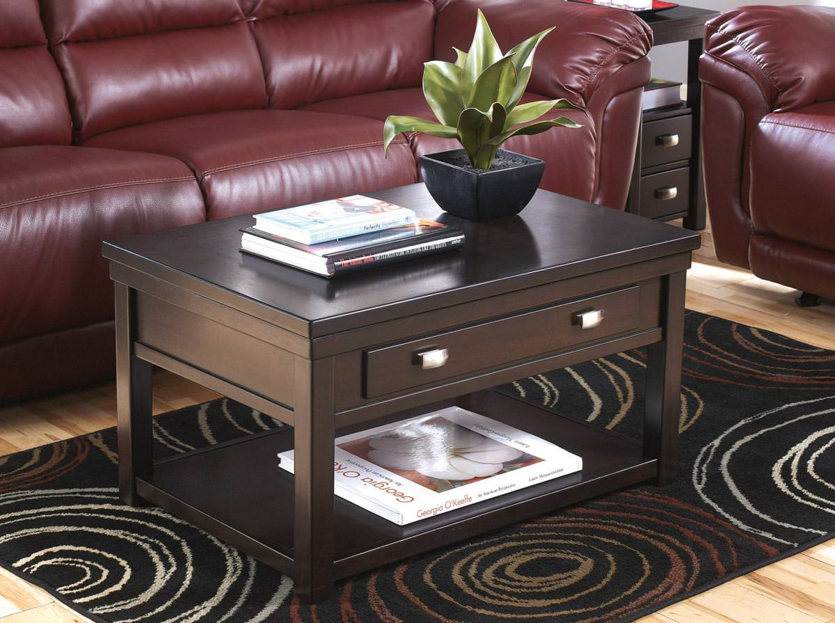 Image of: Lift Top Coffee Table Ashley Furniture