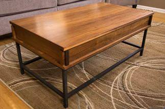 Image of: Lift Top Coffee Table Walmart