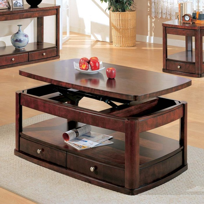 Image of: Lift top coffee table collection