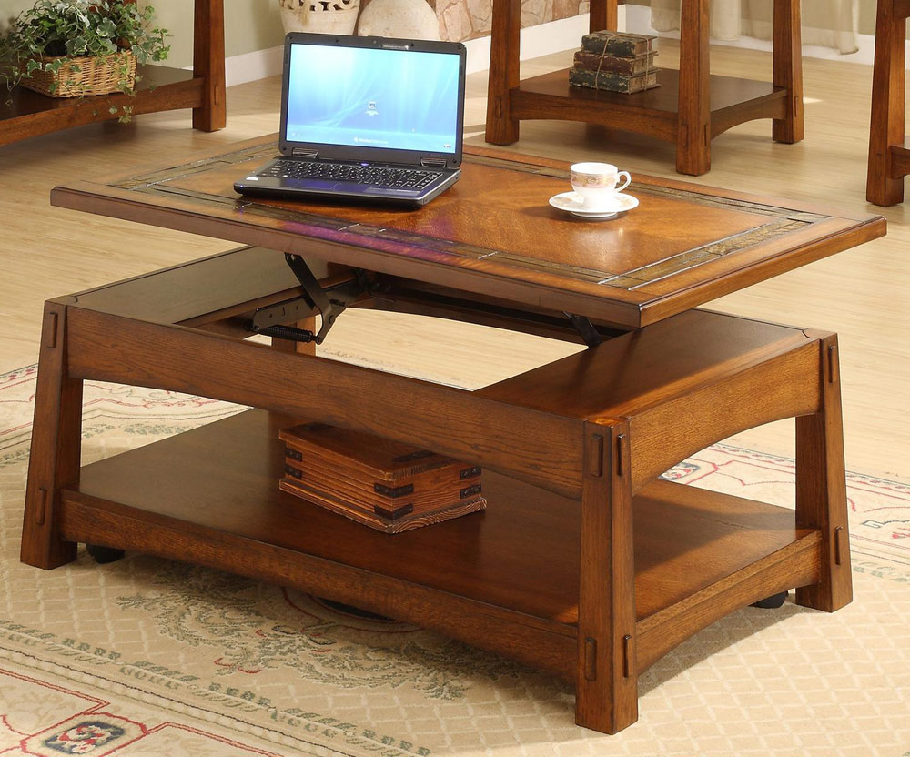 Image of: Lift top coffee table picture