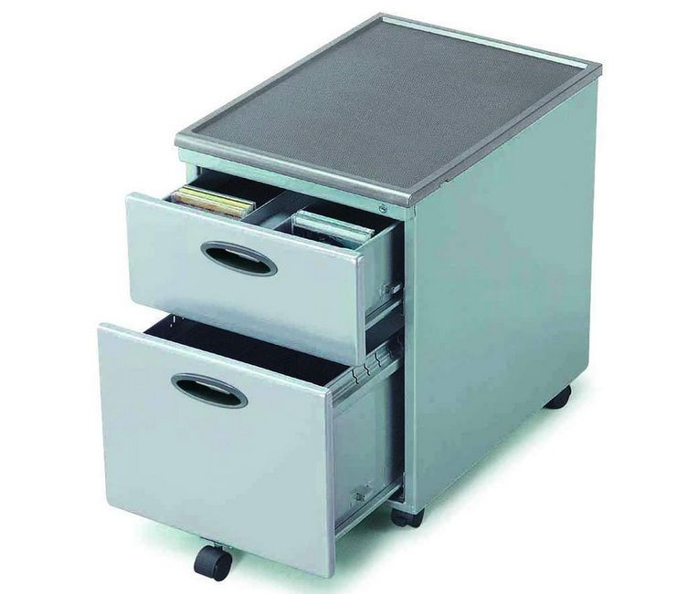 Picture of: Metal File Cabinet Photo