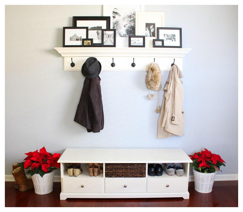 Image of: Modern Entryway Bench