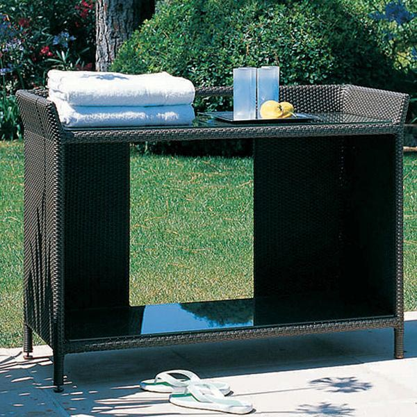Modern Outdoor Console Table