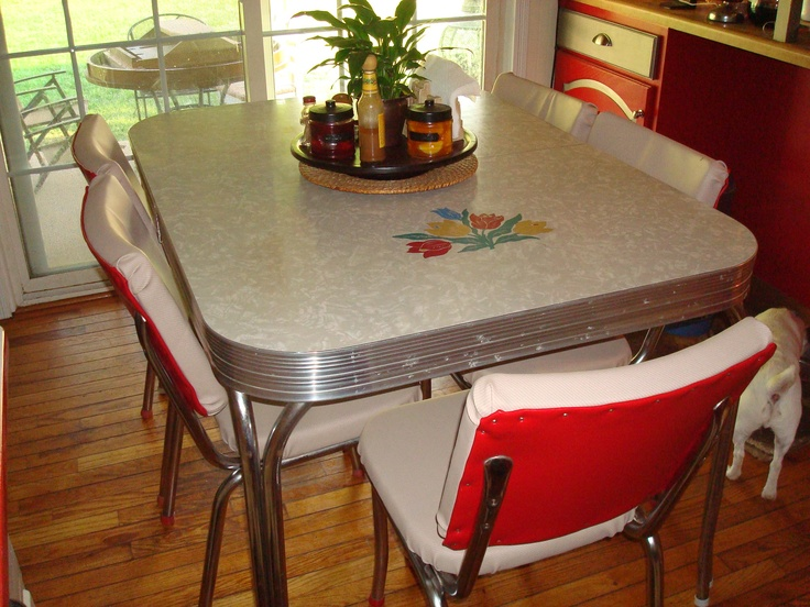 Image of: NICE Retro Kitchen Table