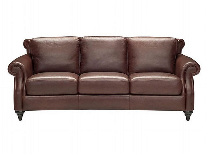 Image of: Natuzzi Italian Leather Sofa