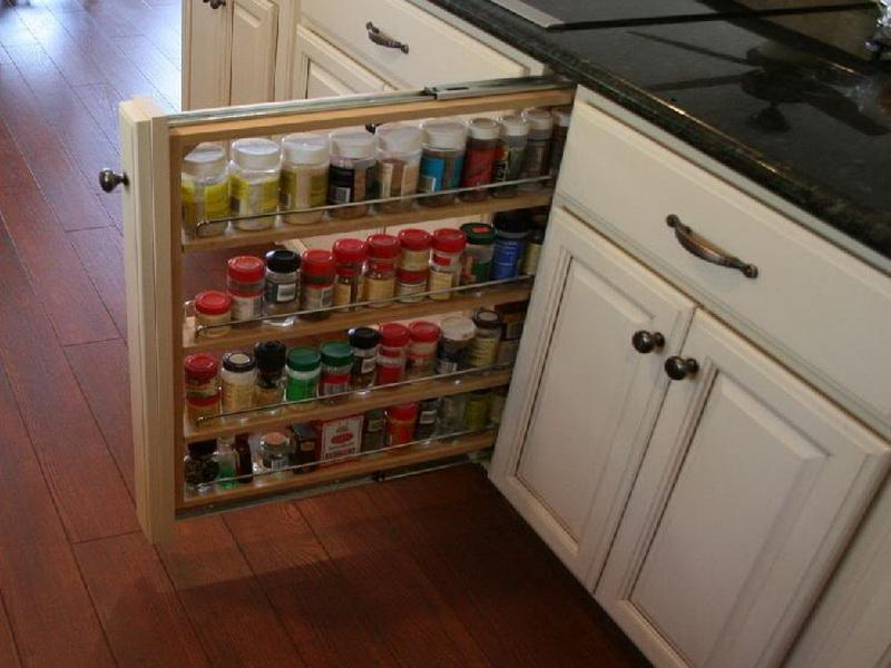 Image of: New Spice Cabinet