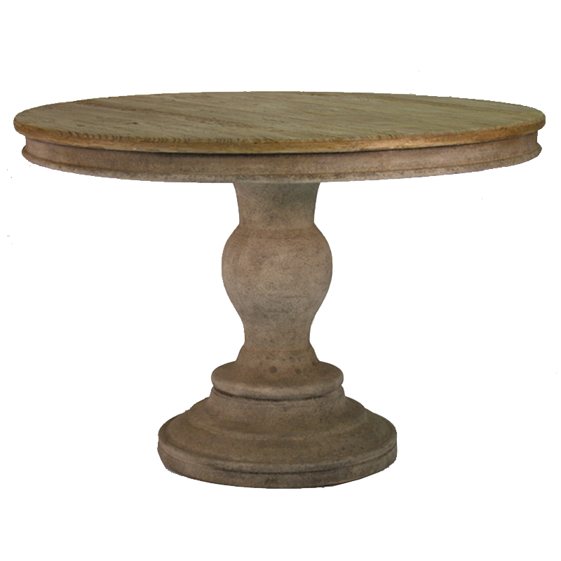 Old World Pedestal Dining Table