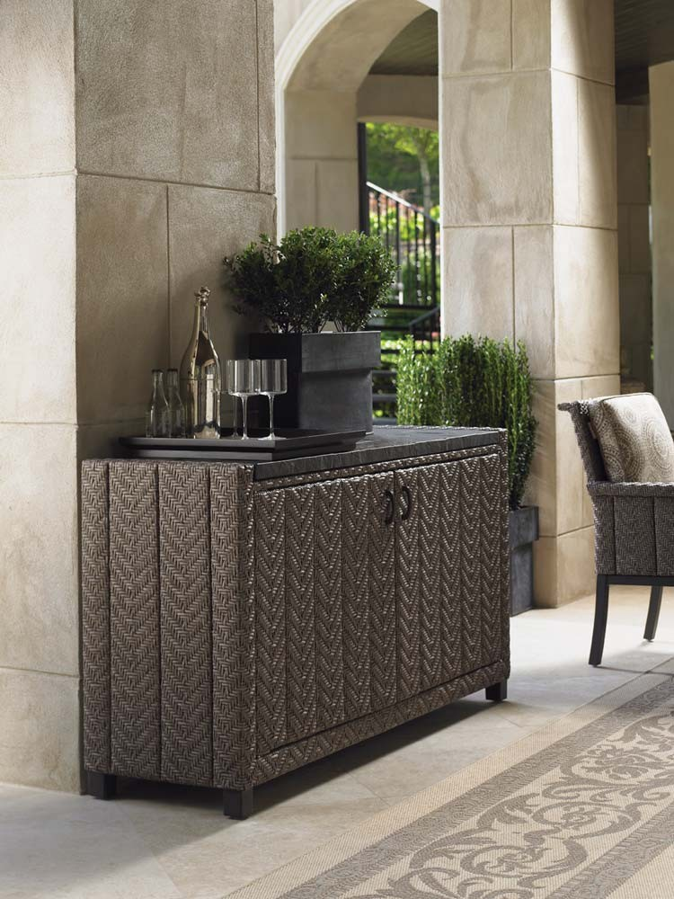 Image of: Outdoor Console Table Style