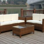 Outdoor Console Table With Sofa
