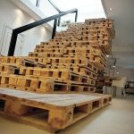 Pallet furniture ideas stairs