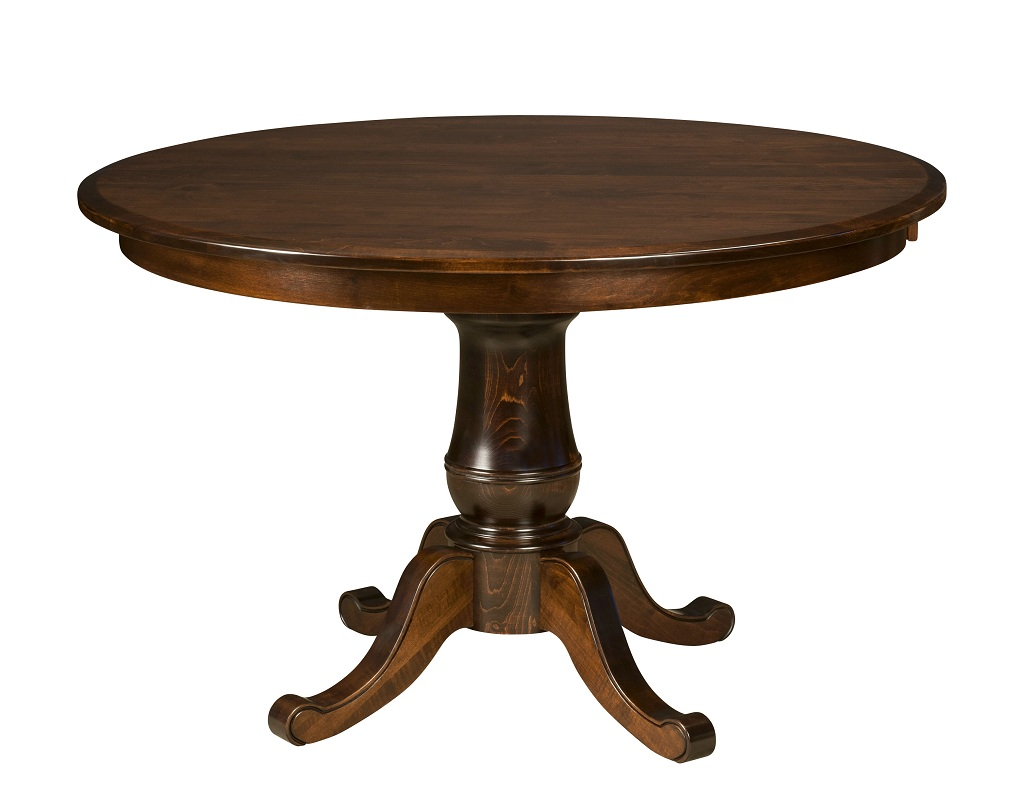Picture of: Perfect Pedestal Dining Room Table